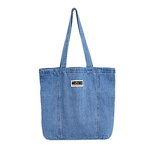 cheap Women's Boots-Women's Bags Denim Tote for Daily Blue