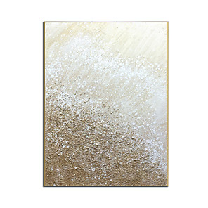 cheap Framed Arts-100% Hand painted By Professional Artist 2020 Handmade Abstract Landscape Oil Painting On Canvas Living Room Home Decor Gold Art