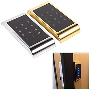 cheap Door Locks-Hot Digital Touch Keypad Lock Password Key Access Lock Electronic Security Cabinet Coded Locker Door Hardware