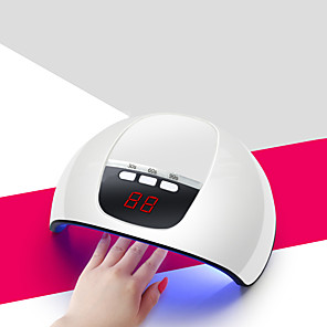 cheap Nail Dryer & Lamp-UV Gel Nail Lamp/Professional Nail Dryer 54W Professional Nail Dryer Nail Curing Light 3 Timer Setting Automatic Sensor with 18 pcs LEDs for Fingernail lGels UV Nail USB Powered Fast Shipping