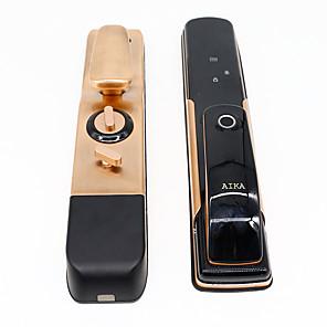 cheap Door Locks-Fingerprint Lock Household Intelligent Anti Peeping Electronic Password Lock Remote Control Security Door Password Lock Home Smart Lock
