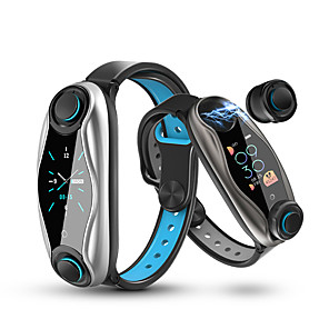 cheap Smartwatches-LEMFO LT04 Unisex Smart Wristbands Android iOS Bluetooth Waterproof GPS Heart Rate Monitor Blood Pressure Measurement Calories Burned ECG+PPG Timer Pedometer Sedentary Reminder Temperature Display