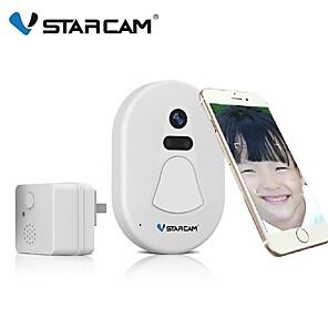 cheap Video Door Phone Systems-Vstarcam App Remote Control Wifi Doorbell Low Power Consumption Video Doorbell