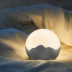 cheap Smart Novelty Lights-New simple moonlight night light creative lover birthday gift night light bedroom bedside planet decoration table lamp
