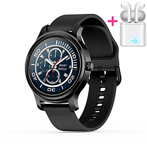 cheap Smartwatches-JSBP PR2 Men Women Smartwatch Android iOS Bluetooth Waterproof Touch Screen Heart Rate Monitor Blood Pressure Measurement Sports Timer Stopwatch Pedometer Call Reminder Activity Tracker