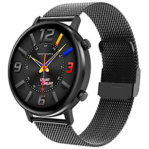 cheap Smartwatches-JSBP HP96 Smart Watch BT Fitness Tracker Support Notify Full Touch Screen/Heart Rate Monitor Sport Stainless Steel Bluetooth Smartwatch Compatible IOS/Android Phones