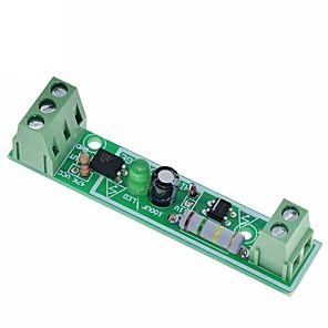 cheap Relays-1-Bit AC 220V Optocoupler Isolation Module Voltage Detect Board Adaptive 3-5V For PLC Isolamento Fotoaccoppiatore Module