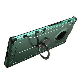 cheap vivoCase-Case For VIVO X27 VIVO X27Pro VIVO X30 VIVO X30Pro VIVO Nex 3 Shockproof with Stand Back Cover Solid Colored Silicone Metal