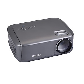 cheap Projectors-U68 LED Projector Mini Projector Multimedia System with HD Compatible Projection Screen