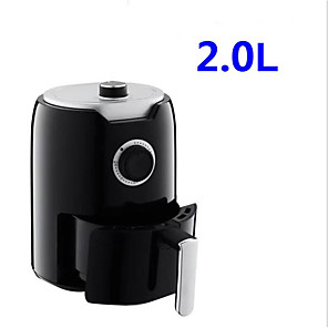 cheap novelty kitchen tools-Air Fryer 2L 1000-Watt Electric Hot Air Fryers Oven Oilless Cooker for Roasting Rotating Presets Family Use