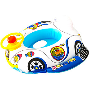 cheap Inflatable Ride-ons & Pool Floats-Inflatable Pool Float Inflatable Ride-on Inflatable Pool PVC(PolyVinyl Chloride) Summer Duck Car Ship Pool Kid's Adults'
