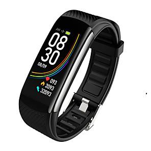 cheap Smartwatches-C6T Smart Bracelet Watches Body Temperature Wristband IP67 Waterproof Sleep Monitor Fitness Health Tracker Bluetooths Smartband