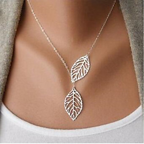 cheap Necklaces-Women's Chain Necklace Chrome Gold Silver 30-50 cm Necklace Jewelry 1pc For Gift Prom Festival