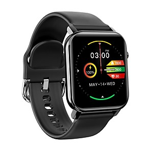 cheap Smartwatches-KOSPET GTO Waterproof Smartwatch with Multi-Sport Mode has a Super Long Heart Rate and a 1.4-Inch High-Definition Screen