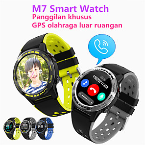 cheap Smartwatches-JSBP PM7 Men Women Smartwatch Custom Dial Android iOS Bluetooth Waterproof Touch Screen GPS Heart Rate Monitor Blood Pressure Measurement Timer Stopwatch Pedometer Call Reminder Activity Tracker