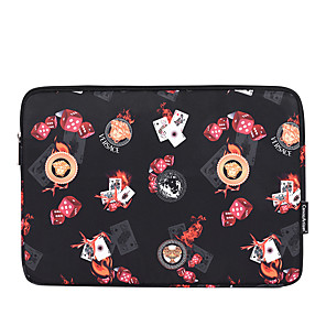 cheap Laptop Bags & Backpacks-11.6 Inch Laptop / 12 Inch Laptop / 13.3 Inch Laptop Sleeve Polyester Novelty / Printing Unisex Waterpoof Shock Proof