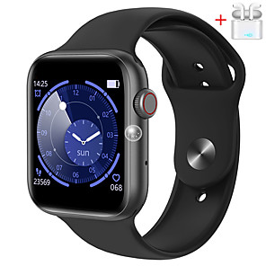 cheap Smartwatches-The new QS18 smart bracelet 1.54 inch heart rate sports silicone men and women Bluetooth call watch