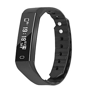 cheap Doorbell Systems-ID115 Smart Wristband Bluetooth Fitness Tracker Support Notify/ Heart Rate Monitor Waterproof Sports Smartwatch Compatible Iphone/ Samsung/ Android Phones