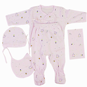 cheap Dolls Accessories-Reborn Baby Dolls Clothes Reborn Doll Accesories Cotton Fabric for 22-24 Inch Reborn Doll Not Include Reborn Doll Elephant Soft Pure Handmade Girls' 5 pcs