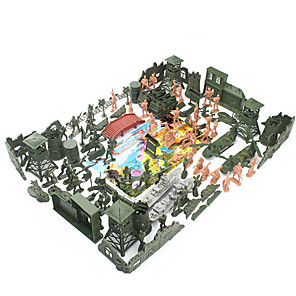 cheap Building Blocks-Action Figure Toy Playsets Military Fighter Aircraft War Tactical Novelty Plastic 60 pcs Kid's Child's Party Favors, Science Gift Education Toys for Kids and Adults