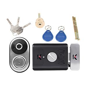cheap Door Locks-WAFU Smart Electronic Fingerprint Door Lock for Courtyard Gate Door Intelligent Door Lock(WF-014A)