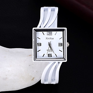 cheap Door Locks-Women's Quartz Watches Quartz Stylish Fashion Adorable Black / White Analog - White Black One Year Battery Life