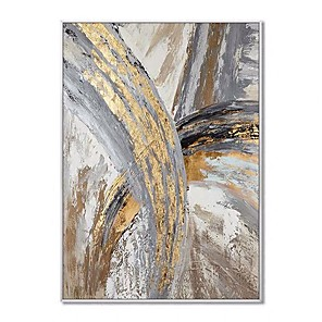 cheap Abstract Paintings-100% Hand painted Wall paintings Hand painted Modern Abstract canvas Oil Paintings home Decoration Abstract Oil Painting wall picture Living Room Rolled Without Frame