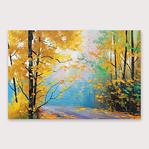cheap Cycling Jerseys-IARTS Hand Painted autumn Oil Painting with Stretched Frame For Home Decoration With Stretched Frame