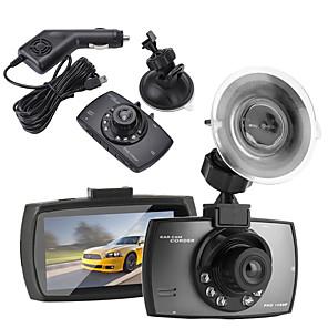 billige Bil-DVR-2,4 lcd vidvinkelobjektiv bilkamera syklusopptaker dvr kamera ir nattsyn ceamara dvr