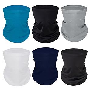 ราคาถูก กระเป๋าวิ่ง-คอสนับแข้งคอ ไหมพรม หน้ากาก Bandana สำหรับผู้ชาย สำหรับผู้หญิง ทุกเพศ ฮารด์แวร์ สีพื้น แฟชั่น การป้องกันรังสียูวี Dust Proof ทำให้เย็นลง สำหรับ การออกกำลังกาย วิ่ง จักรยาน