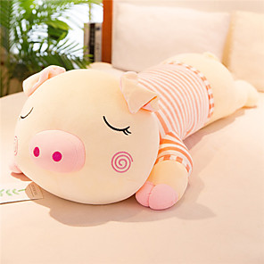 cheap Stuffed Animals-Stuffed Animal Pillow Plush Toys Plush Dolls Stuffed Animal Plush Toy Pig Animals Soft Large Size 65cm Imaginative Play, Stocking, Great Birthday Gifts Party Favor Supplies Girls' Kid's