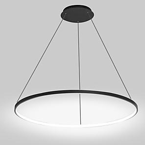 cheap Pendant Lights-1-Light 60 cm LED Pendant Light Metal Acrylic Circle Painted Finishes Modern Contemporary 110-120V / 220-240V