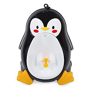Χαμηλού Κόστους Φροντίδα μωρού-ουρητήριο μωρού πιγκουίνος, χαριτωμένο φορητό πιγκουίνο ουροδοχείο για εκπαιδευτή κατούρα με αστεία μόδα στόχου στόχου, κινούμενα σχέδια, αστεία, υπέροχα, παιδιά, μπάνιο (μαύρο)