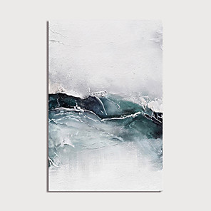 cheap Abstract Paintings-Oil Painting Paint Handmade Abstract Canvas Art Modern Art with Stretcher Ready to Hang With Stretched Frame