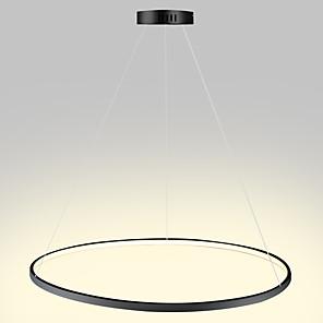 povoljno Bicikli-Privjesak od 1 svjetla od 80 cm vodenog svjetlosnog metala od akrilnog kružnog metala završava moderno suvremeni 110-120v / 220-240v