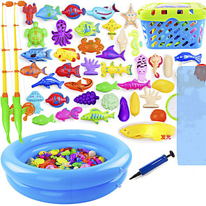 cheap Inflatable Ride-ons & Pool Floats-Bath Toy Water Toys Plastic Kid's Adults' Summer for Toddlers, Bathtime Gift for Kids & Infants