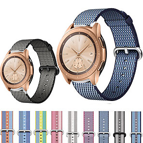 cheap Smartwatch Bands-22MM MagicWatch 2 46MM/ Huawei Watch GT / Huawei Watch GT2 46mm / Huawei Honor Magic/ Huawei Watch 2pro / Huawei GT 2e / Huawei Sport Band / Modern Buckle Stainless Steel / Nylon Wrist Strap