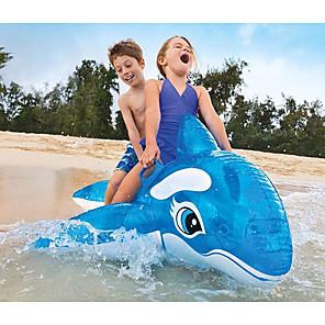 abordables Colchonetas hinchables y Tumbonas de Piscina-Colchonetas para piscina Piscina inflable CLORURO DE POLIVINILO Verano Ballena Azul Piscina 1 pcs Niños Adulto