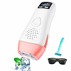 cheap Makeup Brush Sets-laser hair removal, ipl hair removal,  ice permanent hair removal for women,500000 flashes professional hair remover device care with icing sense treatment facial body and whole body