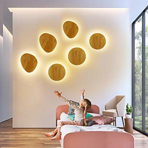 cheap LED Cabinet Lights-Cute / Creative LED / Modern LED Wall Lights Living Room / Dining Room Metal Wall Light IP44 90-264V 8 W