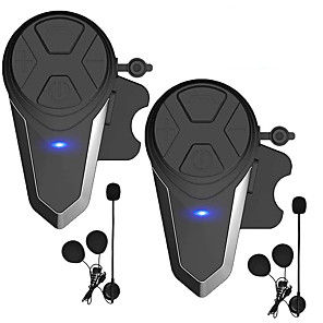 cheap Motorcycle Helmet Headsets-2PCS BT-S3 Bluetooth 3.0 Bluetooth Headsets / Helmet Headsets Ear hanging style Bluetooth / Radio / Multi-person Intercom Motorcycle