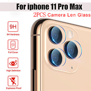 cheap iPhone Cases-Phone Camera Protector for iPhone 11Pro Max Back Cover Transparent Camera Lens Screen Protective Film iPhone 11 XS Max XR 6 7 8 Plus SE 2020 Protective Film on Camera Tempered Glass 2PCS