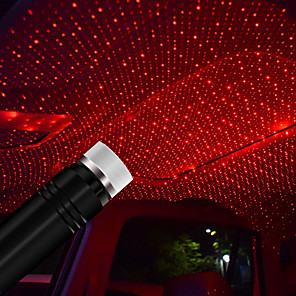cheap Projectors-Usb led Roof Atmosphere Star Light For Cars and Home Decoration Projector Adjustable Atmosphere Ambient Night Light Lampe