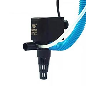 cheap Pumps & Filters-Aquarium Fish Tank Air Pump Water Pump Filter Vacuum Cleaner Adjustable Noiseless Plastic 1 set 220-240 V / # / #