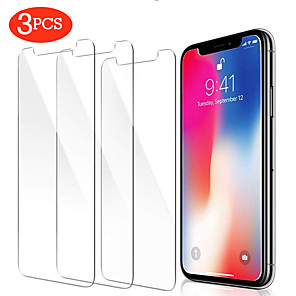 cheap iPhone Cases-AppleScreen ProtectoriPhone 11 High Definition (HD) Front Screen Protector 3 pcs Tempered Glass