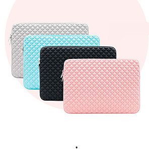 cheap Sleeves,Cases & Covers-11.6 Inch Laptop / 13.3 Inch Laptop / 15.6 Inch Laptop Sleeve / Tablet Cases Polyester Plaid / Check / Solid Colored for Men for Women for Business Office Waterpoof Shock Proof