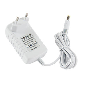 cheap Party Supplies-1pcs 12V 2A DC Power Adapter EU 5.5mm*2.5mm 2.1mm Interface Power Supply AC 100-240v Adapter for Arduino 12V 2A