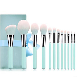 cheap Makeup Brush Sets-Professional Makeup Brushes 12pcs Professional Soft Full Coverage Comfy Wooden / Bamboo for Eyeliner Brush Makeup Brush Eyeshadow Brush