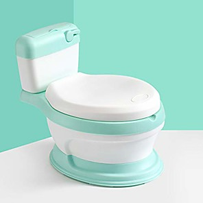 cheap Health & Household Care-m·kvfa simulated toilet shape baby closestool potty chair for boys and girls toddler potty training toilet (green)