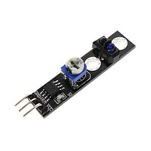 cheap Sensors-Sensor de Rastreamento de KY-033 TCRT5000 Reflexivo Interruptor Fotoeletrico Modulo de Monitoramento Infravermelho Para Arduino